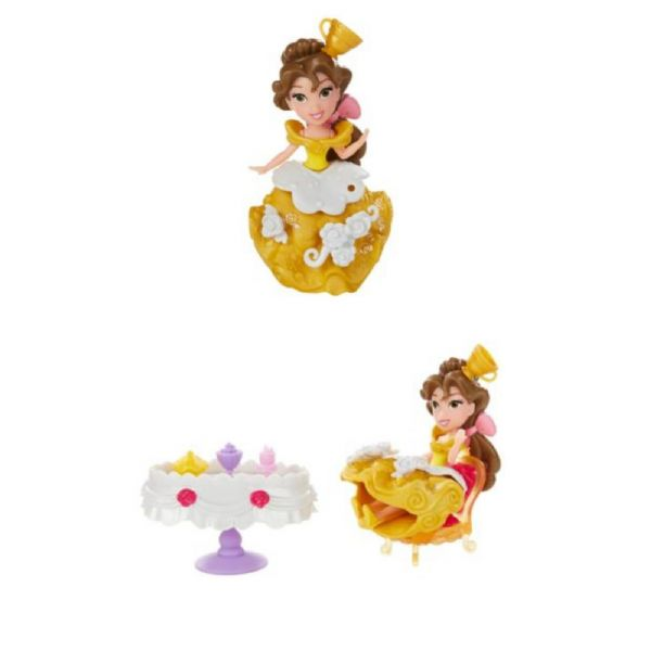 Disney Princess Belle's Enchanted Dining Room inc Belle, Lumiere & Chip. 4+ Yrs